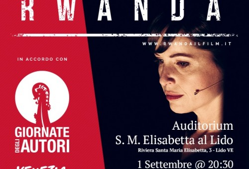 """Rwanda"" becomes a movie that will premiere in Venice"