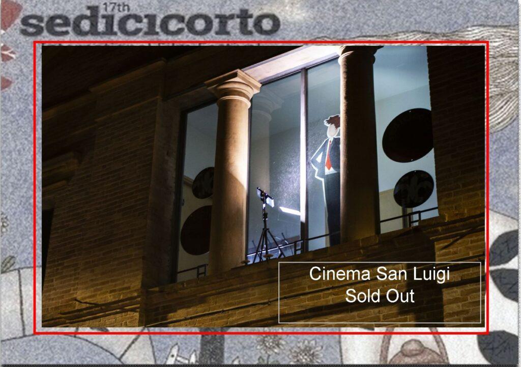 Sold out per la nostra edizione live al San Luigi!